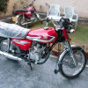 Honda 125 red mint condition2016